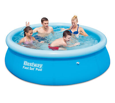 Bestway 57265 Inflatable Pool Self-Supporting Ø cm 244x66h round 2300 Lt for Bam