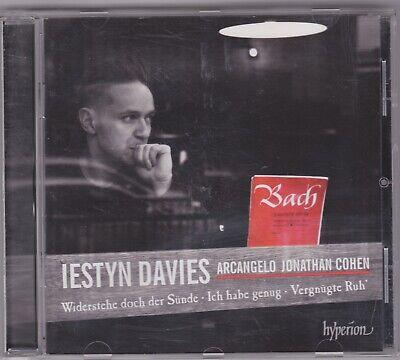 J.S. BACH:CANTATAS 54, 82 & 170..IESTYN DAVIES; ARCANGELO, JONATHAN COHEN