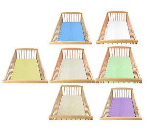 babylux kinderbett spannbettlaken spannbetttuch 70 x 140 baumwolle ebay. Black Bedroom Furniture Sets. Home Design Ideas
