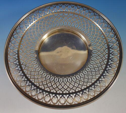 "Tiffany & Co. Sterling Silver Serving Plate Pierced 10 1/2"" Diameter (#2765)"