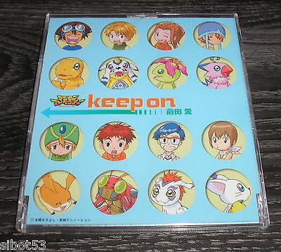 Digimon CD  Keep On Japan Japanisch Lieder Songs Soundtrack