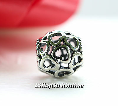 New  Authentic Pandora Charm Open Your Heart 790964