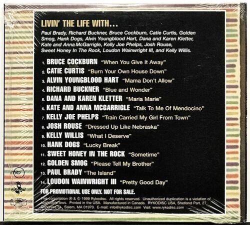 La Vida Folka CD 1999 Rycodisc 14 Tracks Compilation Various Artists Promo - $14.98