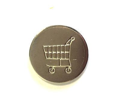 Einkaufswagenchip Ersatzchip Chip Einkaufswagen Metall für Schlüsselanhänger
