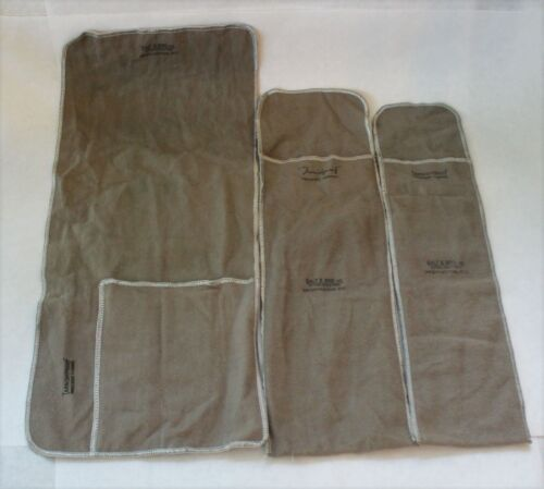 Galt & Bro Inc. Sterling Silver Anti-Tarnish Flatware Storage Bags - Set of 3