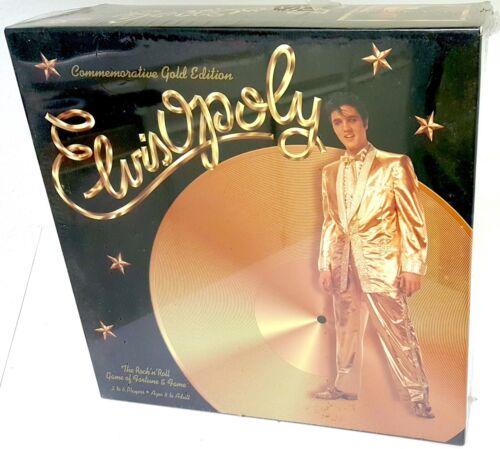 Elvis Presley ElvisOpoly Game of Fame & Fortune Gold Ed.Sealed Out of Print Rare