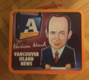 Channel A Vancouver Channel Metal Lunchbox
