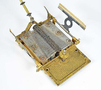 Platine & Tonkamm & Dämpfer für alte Fortuna Adler Spieluhr music box automaton