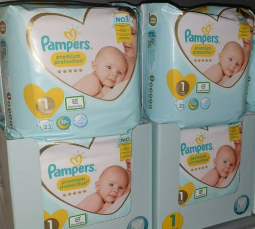 230 Pampers Premium Protection Newborn New Baby Gr.1 Windeln Monatsbox (2-5 kg)