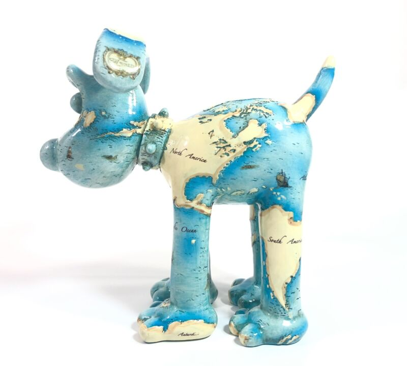 "Gromit Unleashed ""New Found Land"" Dog Figurine"
