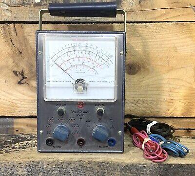 Rca Voltohmyst Type Wv-77e Volt Meter Tubs Test Equipment Vintage
