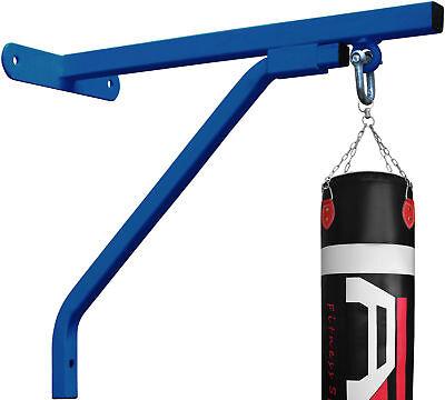 4Fit™ Heavy Duty Punch Bag Standard Wall Bracket Steel Mount Hanging -