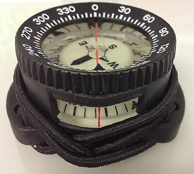 Polaris Taucherkompass Pro Bungee Bungeekompass +/- 30° maximale Neigung Compass