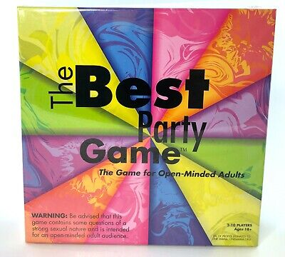 The Best Party Game: a Provocative Adult Board Game for Parties - 3-10 (Best New Board Games For Adults)