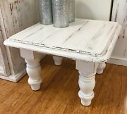 Shabby chic restored wood coffee table Fig Tree Pocket Brisbane South West Preview