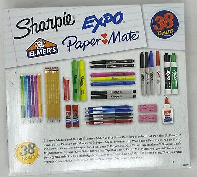 Sharpie Expo Paper Mate 38 Count Kit