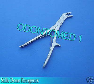 Stille Bone Rongeurs Double Action Orthopedic Surgery Angled Jaw 5 Mm 9