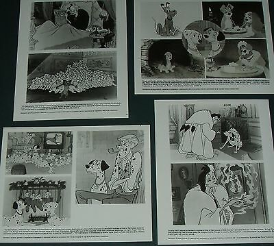 1981 101 Dalmatians 20th Anniversary Movie Press Kit Walt Disney Studios