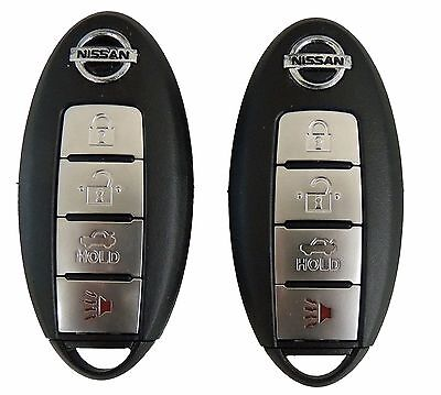 2 Keyless Entry Remote Key Fobs for Nissan Maxima and Altima -