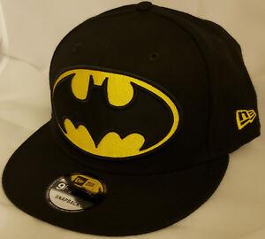 the best attitude 11142 b428f NWT NEW ERA DC COMICS BATMAN logo 9FIFTY SNAPBACK adjustable cap hat