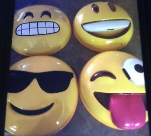 """NEW! Emoji masks $5/each it's a great """"group"""" costume idea"""