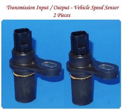 Jeep Transmission Sensor - 2 Pcs Transmission Input Output / Vehicle Speed Sensor Fits: Chrysler Dodge Jeep