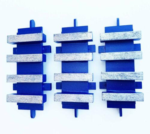 NEW 6PK 120/150 Grit EDCO Diamond Grinding Blocks Dyma-Sert- PREMIUM QUALITY