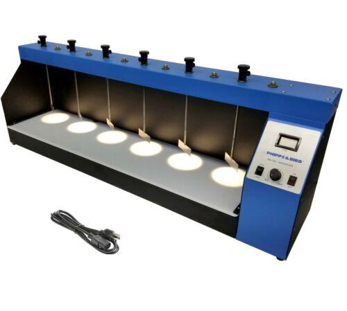 Phipps & Bird PB-700 Jartester 6 Paddle Laboratory Mixer/Stirrer 7790-701B