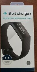 Fitbit Charge 4 NIB Built-in GPS, Heart Rate,Rosewood/Rosewood, Sleep, Swim
