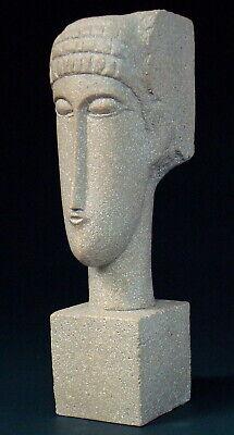 Têtes AMADEO MODIGLIANI Skulptur Parastone Museumsedition MO07 Figur