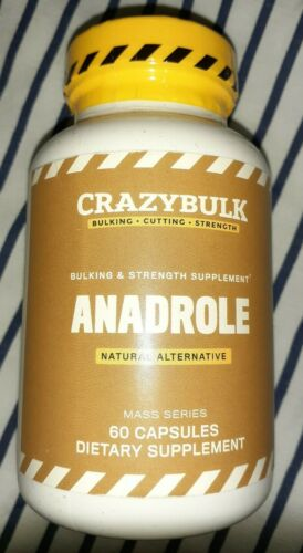 CrazyBulk Androle Bulking Strength Gain Weight Growth Recovery Mass Muscle