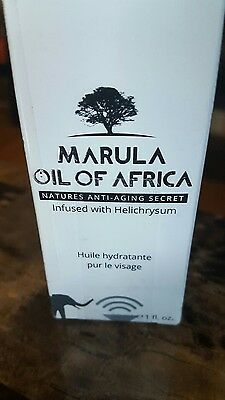 MARULA OIL OF AFRICA Infused with Helichrysum Full Size 1 fl oz 100% NATURAL NIB