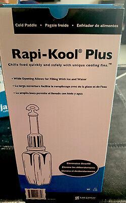 San Jamar RCU64V2 Rapi-Kool Plus Cold Paddle, 64 oz Hanging Tag / 1-Pack