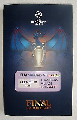 UEFA Champions League Final 2017 (Cardiff) VIP Match Ticket & Official Programme