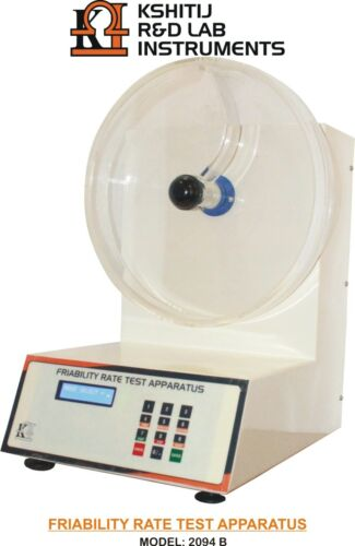 TABLET FRIABILITY TEST APPARATUS AUTO INJECT SYSTEM