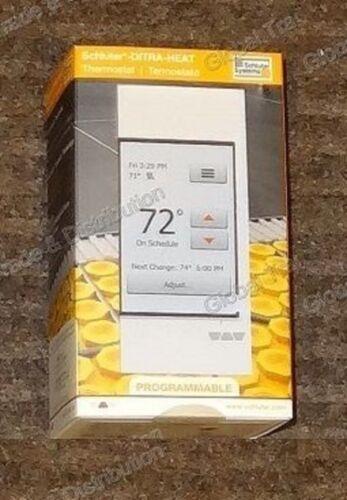 Schluter Ditra Heat E-RT Touchscreen Programmable Thermostat DHERT102/BW