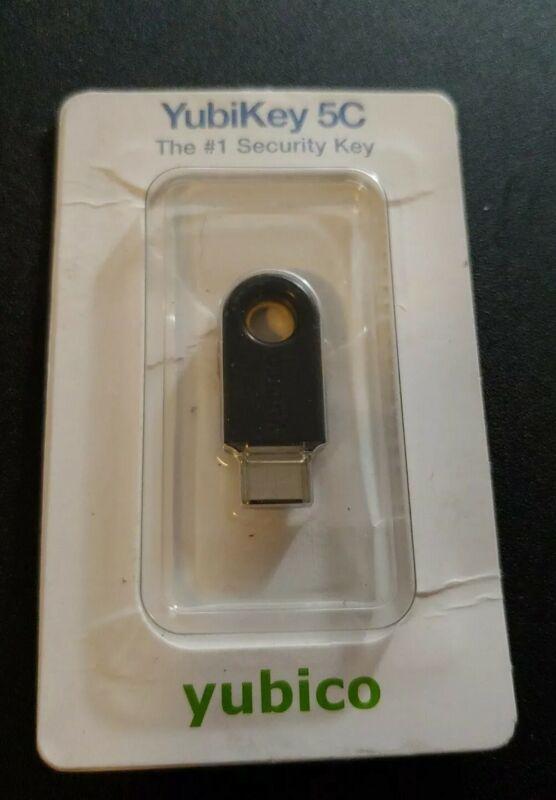 USED Yubico YubiKey 5C USB Encryption Device