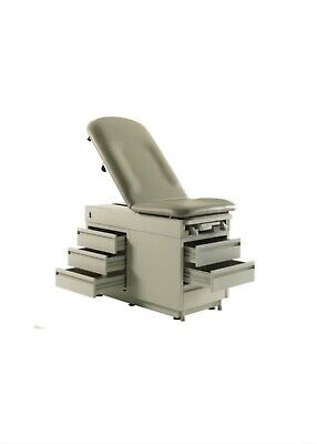 New Intensa 420 Medical Exam Table 500lbs Weight Capacity Pass Through Draws G8b