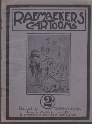 RAEMAEKERS CARTOONS 1914 CATALOG WWI