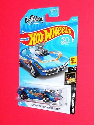 2018 Hot Wheels '68 Corvette Gas Monkey Garage #41  FJX72-D9C0CB B case