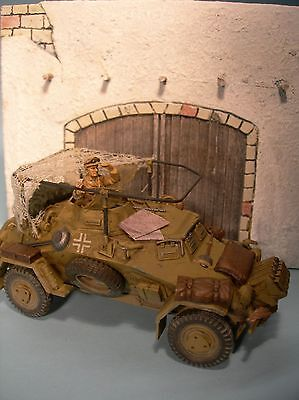 1/35 Scale  - Arab Gateway - North Africa military diorama model