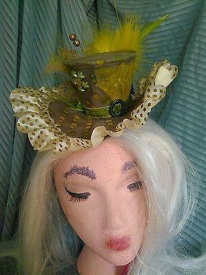Steampunk costume ball tea party mini mad hatter top hat](Steampunk Mad Hatter Costume)