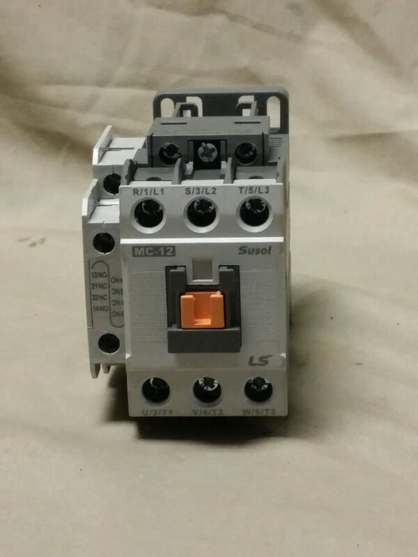 Ls Industrial Systems Contactor MC-12 Used 440V 12A