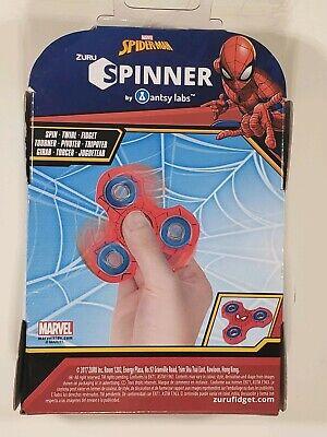 Zuru SpiderMan Fidget Spinner New In Box