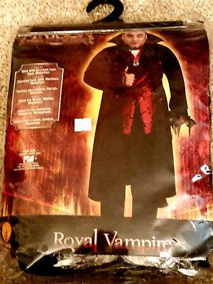 Vampire Costume Mens Arisen Lust for Blood Royal Adult Men's Costume Rubies