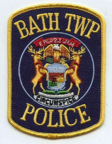 BATH TOWNSHIP MICHIGAN MI POLICE PATCH