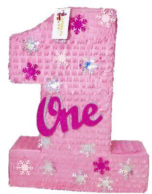 Large Pinata (APINATA4U Large Pink Number One Pinata with)