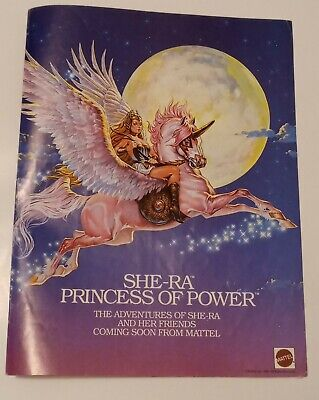 1985 She-Ra Princess of Power Vintage Premiere Print Ad/Poster Pop Art Decor