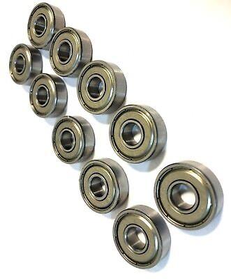 10pcs Bearings 608zz 8x22mm Skate Metric Ball Bearings Fidget Spinner No Grease