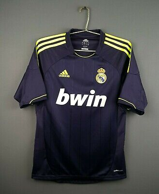 48a821f1 5/5 Real Madrid jersey small 2012 2013 away shirt X21992 soccer Adidas ig93